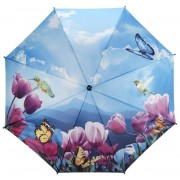 Blooming Brollies Doamnelor umbrelă Lalele sonata stil stick stick