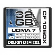 Delkin CompactFlash 32GB 1050X, 160MB/s