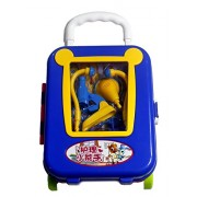 Fusine™ Medicine Center Pretend Play Toys Doctor Set Box Role Playing Game for Child Toy Dr Kit with suitcase trolley bag