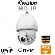 TOP FULL HD IP Speed Dome CCTV kamera se 100m IR, 20x Zoom