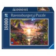 Puzzle Apusul in Paradis 18000 de piese Ravensburger