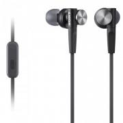 Casti audio in-ear Sony MDR-XB50APB, Control Telefon, Extra Bass, Negru