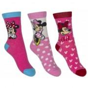 Disney Minnie Mouse sokken 3-pak roze