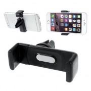 GadgetBay Support voiture universel noir grille de ventilation support téléphone iPhone voiture Samsung