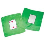 "2 of Hearts 9"" Card Silk Set."