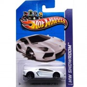 Hot Wheels 2013, Lamborghini Aventador LP 700-4 (WHITE), HW SHOWROOM, #173/250. 1:64 Scale.