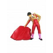 Toroshopping Figura de Torero con Muleta Meskebous - Rojo