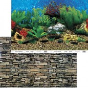 PENN PLAX Pozadie obojstr. 80cm/15m Shale Wall / Hawai