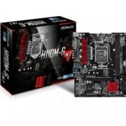 Дънна платка ASROCK H110M-G/M.2, H110, LGA1151, DDR4, PCI-E(D-Sub&DVI-D&HDMI), 4x SATA 6Gb/s, M.2, 2x USB 3.0, microATX