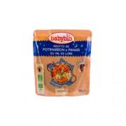 Babybio Jó éjszakát! - Bio sütőtökös-paszternákos rizottó 190 g
