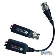 Infinon TTP111HDLE 1 csatornás HD-TVI/HD-CVI/AHD passzív video adó/vevő; economy kivitel