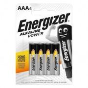 Energizer 4 Piles AAA / LR03 Energizer Alcaline Power