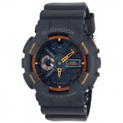 reloj de hombre genuino casio g-shock GA-110TS-1A4CR 200 metros resistencia al agua - gris