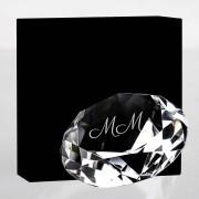 Presenter Glasdiamant med gravyr