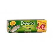 Dieterba (heinz italia spa) Omo Diet.Trota 3x80g