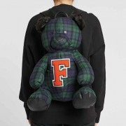 Puma Mascot Bear Backpack Plaid