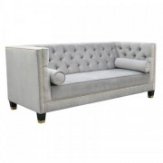 Das Sofa pikowana Chesterfield Lincoln 2-osobowa