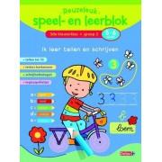 Deltas Reuzeleuk speel- en leerblok - Ik Leer Tellen En Schrijven (5-6 Jaar)