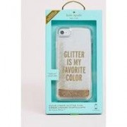 Kate Spade - Glittrande mobilskal till iPhone 8/7/6s - Guld