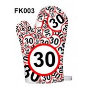 30-as karikás 003 - Tréfás Edényfogó kesztyű
