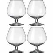 Royal Leerdam 4x Cognacglazen transparant 800 ml Specials