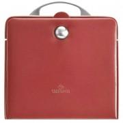 Windrose Merino Charmbox Caja para joyas joyero 21 cm light red