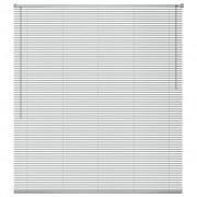 vidaXL Jaluzele de fereastră, aluminiu, 100 x 160 cm, argintiu