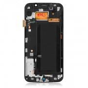 Display Samsung Galaxy S6 Edge G925 Cu Touchscreen Si Rama Original Albastru