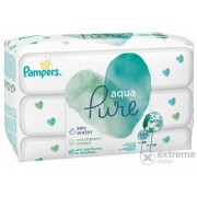Pampers Aqua Pure Triopack maramice, 3x48 kom