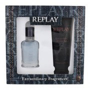 Replay Jeans Spirit! For Him confezione regalo Eau de Toilette 30 ml + doccia gel 100 ml uomo