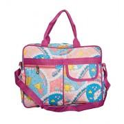 Pink Olive Fabric Pink Diaper Bag (PO-0615B14)