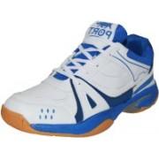 Port Activa Badminton Shoes For Men(White)