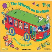 The Wheels on the Bus Go Round and Round, Hardcover/Annie Kubler