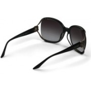 Celine Dion Rectangular Sunglasses(Grey)