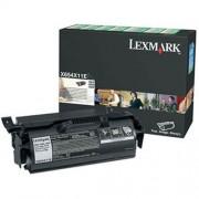 Toner Lexmark X654X11E black, X654/X656/X658 36000str.