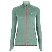 Salewa Pedroc PL W FZ - giacca in pile - donna - Light Green