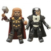 Diamond Select Toys Marvel Minimates: Thor 2: Series 53 Thor and Malekith Action Figure 2-Pack
