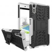 Capa Híbrida Antiderrapante para Sony Xperia XZ, Xperia XZs - Branco
