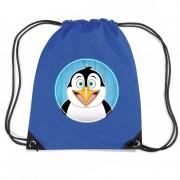 Shoppartners Pinguins rugtas / gymtas voor kinderen