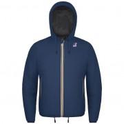 K-Way Vestes Polaires hiver homme Capuche Slimfit Jacques Ripstop Marmot Bleu Jeans / Marmot anthracite - XXL