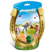 Playmobil Country, Ingrijitor si ponei cu inimioare