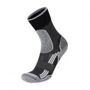 Rywan No Limit Running Socks Sportsocke, Schwarz/Grau, Gr. 38-40