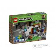 LEGO® Minecraft Pestera cu zombi 21141