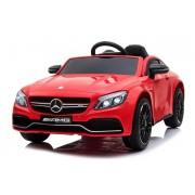 Masinuta electrica cu roti din cauciuc Mercedes Benz C63s Red