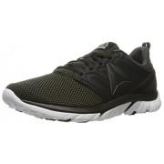 Reebok Men s Zstrike Run Se Running Shoe Coal/Black/White/Silver Metallic 9.5 D(M) US