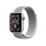 Умные часы APPLE Watch Series 4 44mm Silver Aluminium Case with Seashell Sport Loop MU6C2RU/A