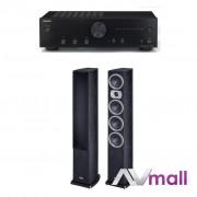 Pachet Amplificator Integrat Onkyo A-9010 + Boxe Heco Victa Prime 602