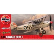 Kit aeromodele Airfix 4103 Avion Hawker Fury I Scara 1 48