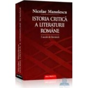 Istoria critica a literaturii romane - Nicolae Manolescu