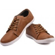 Andrew Scott AS141Chickoo Sneakers(Brown)